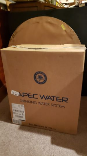 APEC Water Reverse Osmosis Filtration System for Sale in San Jose, CA