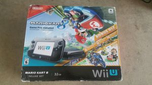 Mario kart 8 Nintendo wii U system complete for Sale in Queen Creek, AZ