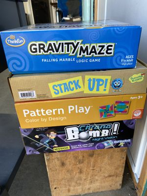 Games. Mostly brand new. For kids 6-12 ish year old for Sale in Santee, CA