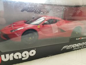 Maisto 1/18 diecast Ferrari LaFerrari, rare brand new red, toy car/collectible for Sale in La Costa, CA