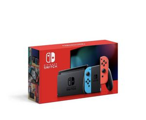 Nintendo Switch with Neon Blue and Neon Red Joy-Con for Sale in Orange, CA