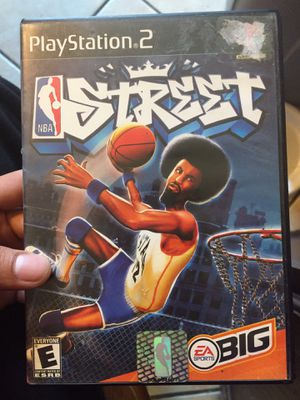 PS2 NBA Street for Sale in Seguin, TX