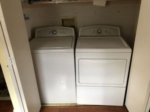 Washer and gas dryer for Sale in Houston, TX