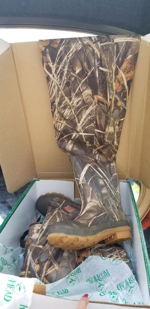 Redbone Waders fishing / hunting waterproof boots mens size 7 for Sale in Orlando, FL