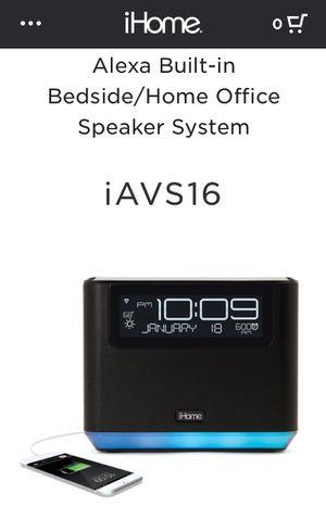 iHome Alexa Alarm Clock Radio for Sale in New York, NY