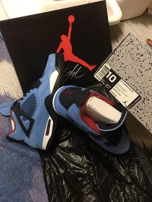 Air Jordan Retro 4 *Travis Scott* (🌵Cactus Jack) $800 ‼️NEVER WORN EVER‼️ for Sale in Tampa, FL