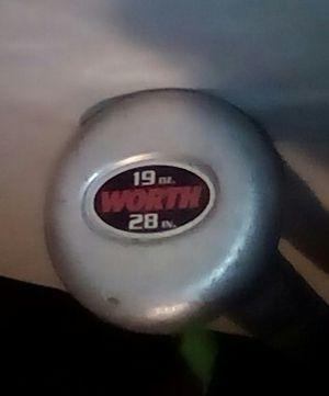 "Worth baseball bat 28"" 19 oz for Sale in Fresno, CA"