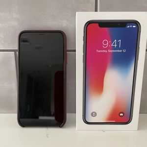Apple iPhone X 256gb in Space Gray for Sale in Phoenix, AZ