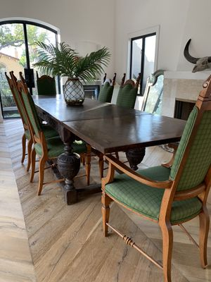 1800s vintage hand carved English dining table for Sale in Beverly Hills, CA