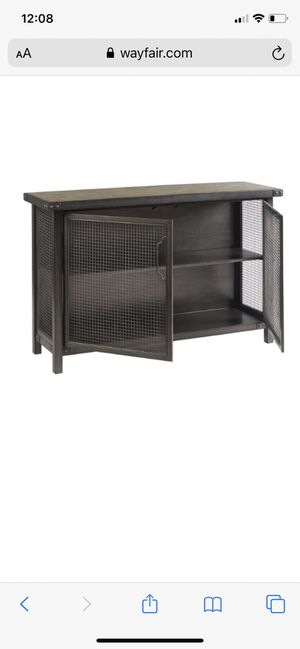 "Wayfair Casolino wide sideboard console hutch buffet accent side by Trent Austin Design 50"" farmhouse modern cabinet table Cb2 crate restoration west for Sale in Artesia, CA"