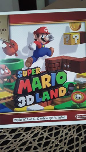two 3DS games(Luigi Mansion & Smash Bros) for Sale in Columbus, OH