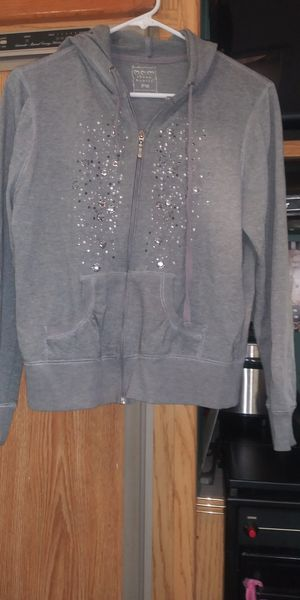 three hearts size pm grey hoodie jacket for Sale in Tampa, FL