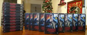 New Lot of 19 Netflix Stranger Things Season 1 - 4 Disk Blu-Ray/DVD Collector's Box Set & Collectable Poster for Sale in Los Angeles, CA