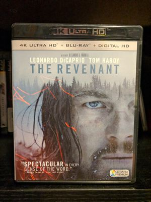The Revenant 4K/Blu-ray (Code Used) for Sale in Chicago, IL