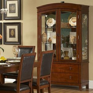 Buffet With Hutch in Cherry Finish for Sale in San Jose, CA