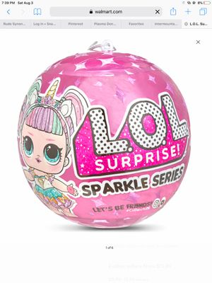 Lol Surprise Dolls Sparkle Series for Sale in Sandy, UT
