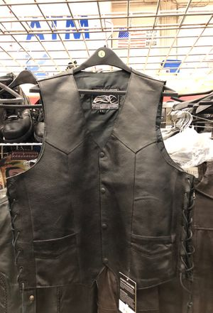 Leather Vest for Sale in Tinley Park, IL
