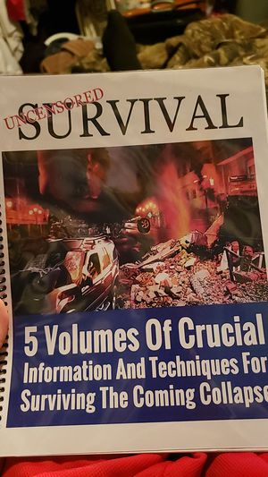 Survival Guide Book for Sale in Simpsonville, SC
