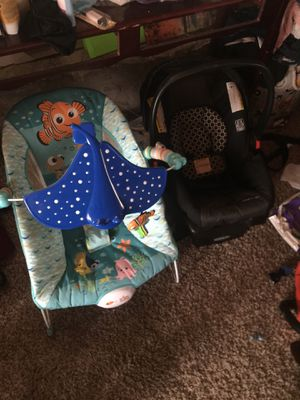 Bouncer and Car seat for Sale in Avon, IN