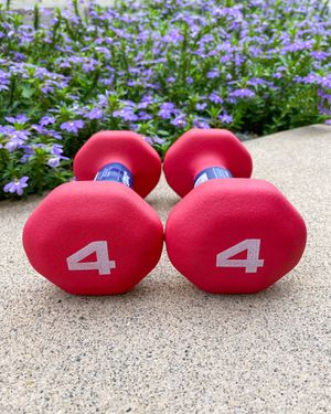 ‼️ BRAND NEW / BEST QUALITY 4lb Neoprene Dumbbells (Pair) - Workout Weights for Sale in San Diego, CA