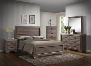 Rustic Queen Bedroom Set for Sale in Silver Spring, MD