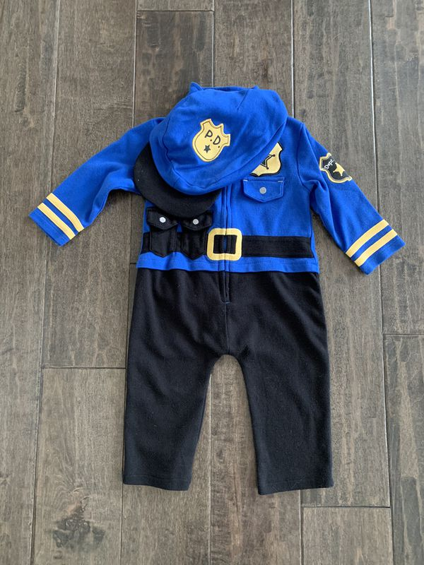 6-9 mo Police Officer Halloween costume