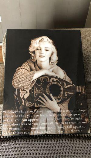 Marilyn Monroe picture for Sale in Troy, MI