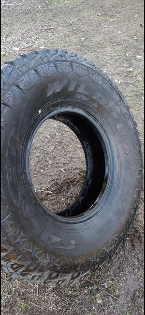 "New Falken Wildpeak AT 37"" all terrain tire 37/12.5/17 for Sale in Jamul, CA"