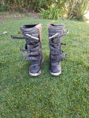 MX dirt bike/quad boots size 9 for Sale in Fresno, CA