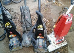 Bissell and Advance Vacuum Cleaners for Sale in Fresno, CA