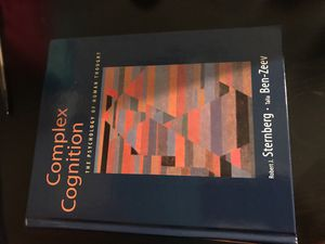 Complex Cognition Textbook for Sale in San Francisco, CA