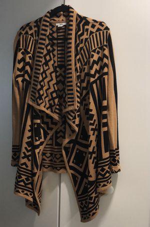 Bar III Long Geometric Patterned Cardigan for Sale in Southfield, MI