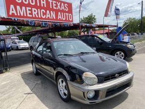 2002 Subaru Impreza Wagon for Sale in Kirby, TX