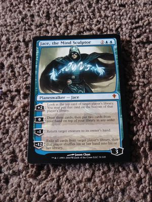 Jace, the Mind Sculptor Magic the Gathering card for Sale in North Parkersburg, WV