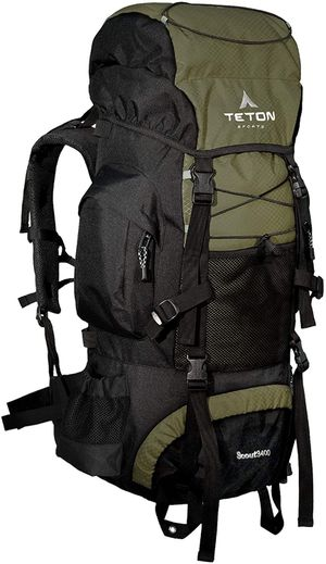 Teton Sports Hiking Backpacking Camping Backpack 55 Liters for Sale in Arlington, VA