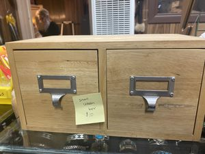 Small wooden portable drawers for Sale in Los Angeles, CA