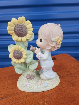 Precious moments figurine sunflower for Sale in Tulsa, OK