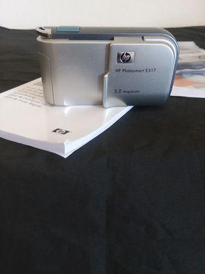 HP Photosmart E317 Digital Camera 5 Mega-Pixels. for Sale in Hyattsville, MD