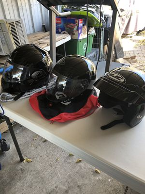Motorcycle helmets for Sale in Fort Worth, TX