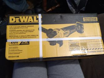 4.5 Angle Grinder With Brake for Sale in Springfield,  IL