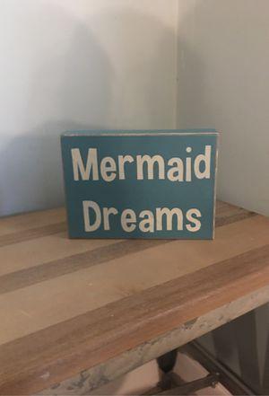 Mermaid home decor for Sale in Fort Pierce, FL