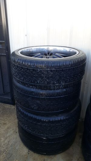 DUB rims 24s for Sale in Victorville, CA