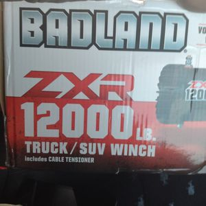 Badland ZxR 12000 Lb Winch for Sale in Tacoma, WA