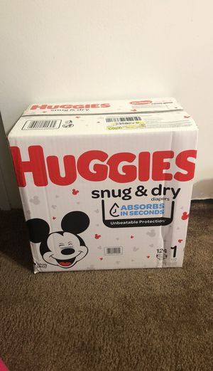 Huggies Pampers Size 1 for Sale in Riverdale, GA