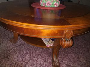 Solid round coffee table for Sale in Rocky Mount, VA