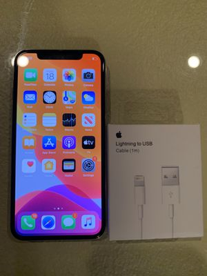 $500 Firm iPhone X 256GB Unlocked for ANY Carrier Worldwide for Sale in Pasadena, CA