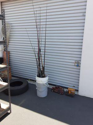 Fishing rods we reels 50 bucks each for Sale in Anaheim, CA