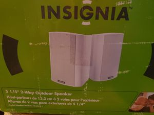 Speakers Outdoor or Indoor JBL JL Bose Insignia Waterproof Garden Deck for Sale in Beaverton, OR