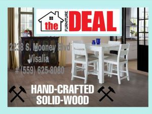 Hand-Crafted 5-PC Dining Set for Sale in Tulare, CA