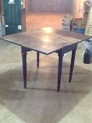 6 legged antique drop leaf farm house kitchen table for Sale in Dover, PA